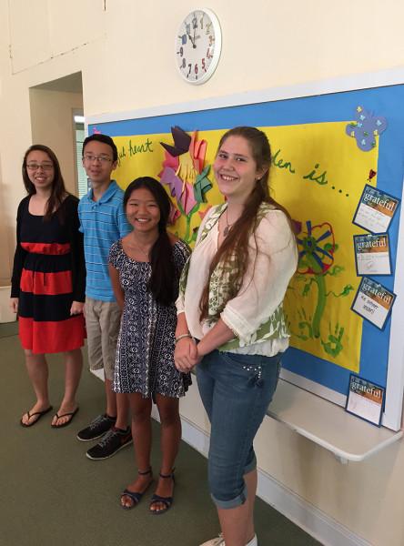 Sunday School students